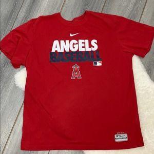 Mens Angels Nike Dri fit short sleeve tee XL